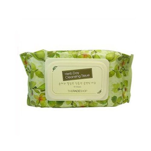 The Face Shop Herb Day Cleansing Tissue 70 Sheets - Face Shop-herb