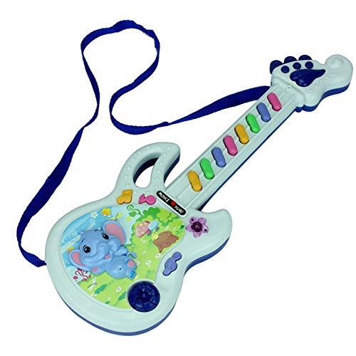 Cloverclover E-Gitarren-Spielzeug-Musikspiel Kid-Jungen-Mädchen-Kleinkind-Learning Developmental Electron Spielzeug Bildung Geburtstags-Geschenke