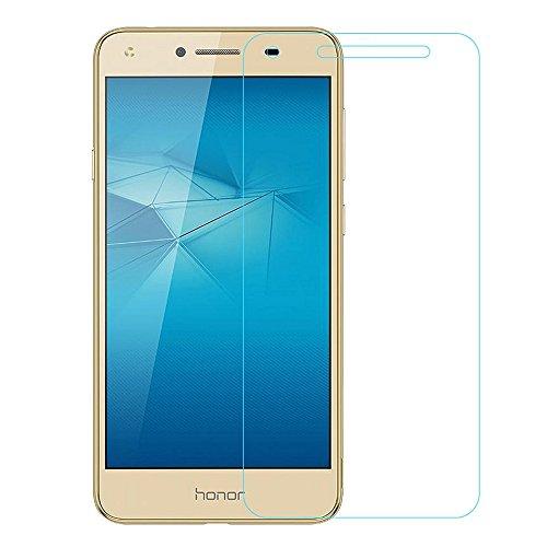 Colorfone Vetro Temperato Huawei Y6 II Compact / Y5 II Pellicola Protettiva, Trasparente, Tempered Glass , Screen Protector, 2.5D 0.3 mm Durezza 9H