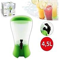 Takestop® Dispensador para bebidas 4,5litros con grifo dispensador dispensador agua Bebidas Color aleatorio