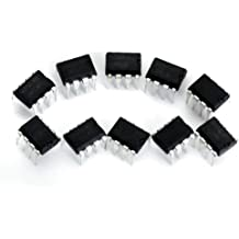 10x LM358N Baja Potencia 8-pin Doble Amplificador Operacional
