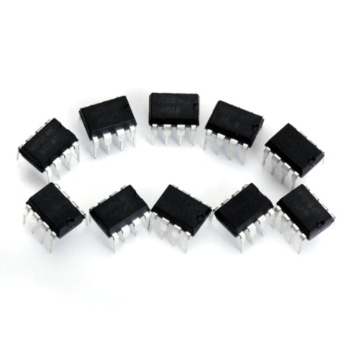 10 x LM358N Low-Power-8-Pin Dual Operationsverstärker