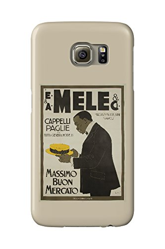 mele-and-ci-cappelli-paglie-vintage-poster-artist-laskoff-italy-c-1902-galaxy-s6-cell-phone-case-sli