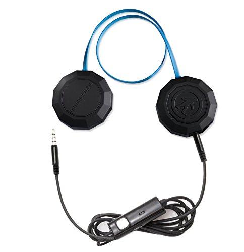hips Mobiles Headset Binaural Helm Schwarz, Blau Verkabelt - Mobile Headsets (Verkabelt, Helm, Binaural, Ohraufliegend, Schwarz, Blau) ()