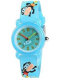 Reloj de pulsera para niños y niñas, diseño 3D de dibujos animados, correa de silicona, relojes de pulsera para profesor de tiempo para niños y niñas