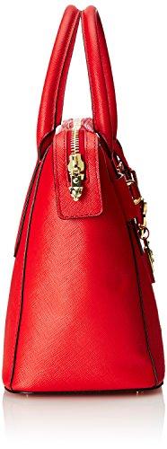 MARC CAIN Marccaindamen_henkeltaschenfbtj.02l01, Sacs portés main Rouge - Rot (pompeian 275 275)