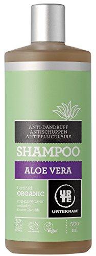 Urtekram Aloe Vera Shampoo Bio, Antischuppen, 500 ml -