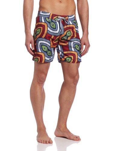 DIESEL - Shorts de bain - Homme - Maillot de bain multicolore Blans Edition Limitée Orange