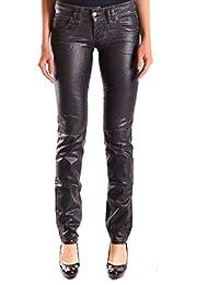 Galliano Damen MCBI130058O Schwarz Baumwolle Jeans
