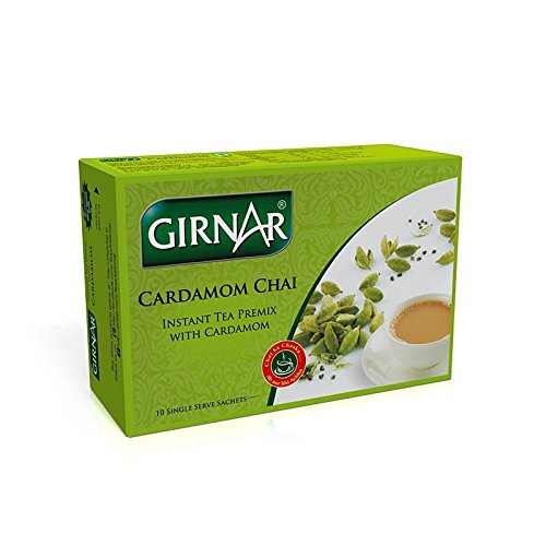 Girnar Instant Tea Premix with Cardamom, 10 Sachets
