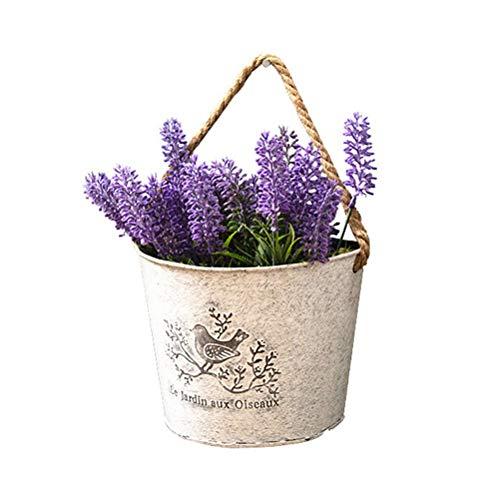 Metalleisen, Blumentöpfe zum Aufhängen, tragbar ()