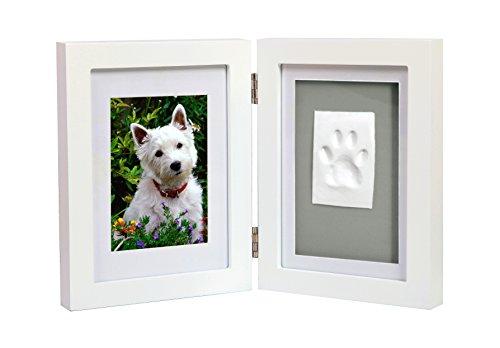 inklusive E-Book - Bilderrahmen mit Knetmasse für Hand/Fußabdruck deines Babys/Haustieres von Osje