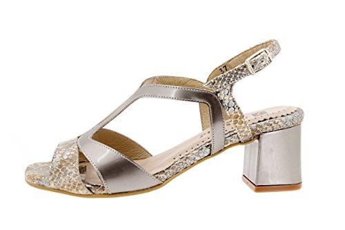 Chaussure femme confort en cuir Piesanto 1495 sandales à talons confortables amples Cuero
