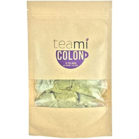 Teami Blends - Natural Colon Cleanse Detox Tea - Helps in Weight Loss - Detoxify, Improves Digestion & Quality of Sleep - Gluten , Soy & Dairy Free - Natural Loose Leaf Tea Blend (15 Tea