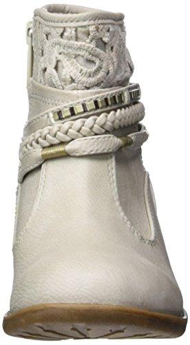 Mustang 5018-510, Bottes Classiques Fille Blanc Cassé (203 Ice)
