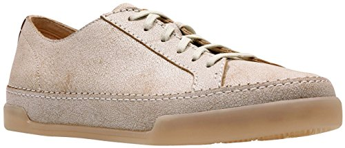 CLARKS - Womens Hidi Holly Shoe, Size: 8 B(M) US, Color: White Leather -