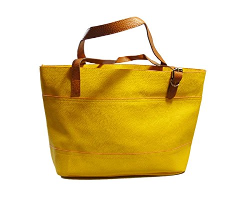 "Antemi - Accessori - Estate tote borsa shopper femminile ""Fily"" Giallo"