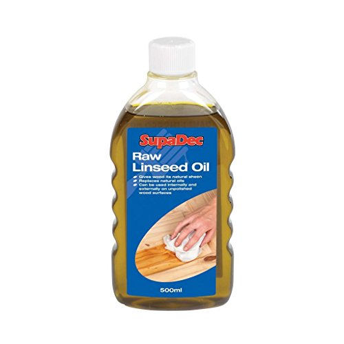 SupaDec Raw aceite de linaza 500ml madera da su brillo natural