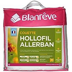 Blanrêve - Couette Chaude - Protection Totale - anti acariens et antibactérienne -Blanc - 240x220 cm