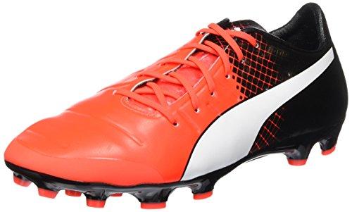 Puma evoPOWER 1.3 Tricks AG, Chaussures de football homme Rouge - Rot (Red blast-puma white-puma Black 03)