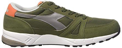 Diadora Run 90, Sneakers basses homme Verde (Verde Olivina)