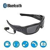 XXBF Bluetoothe Kamera Brille,V4.1 polarisierte Bluetooth-Brille 1080P Multi-Funktions-MP3-Outdoor-Sport Reiten digital DV