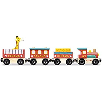 Janod - J08530 - Story - Train Circus Bois