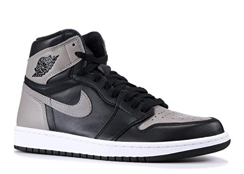 Nike - Air Jordan 1 Retro High OG BG - 575441002 - Color: Negro-Blanco - Size: 37.5 HiC2I2z