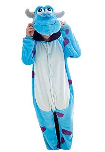 Pyjamas Bekleidung Animal Erwachsene Unisex Schlafanzüge Karneval Onesies Cosplay Jumpsuits Anime Carnival Spielanzug Kostüme Weihnachten Halloween Nachtwäsche Jungen Sullivan