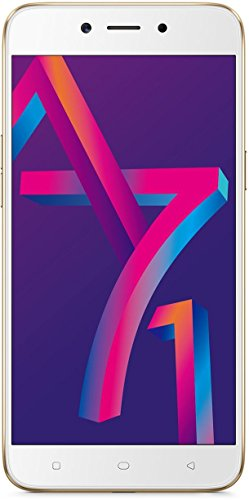 Oppo A71 CPH1801 (Gold, 16GB) Without Offer image