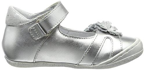 Froddo Mädchen Mary Jane Halbschuhe Silber (Silver)