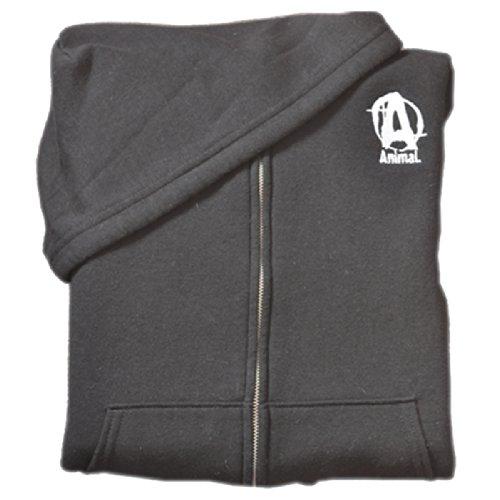 Universal Nutrition Animal Zipped Hoody Original-schwarz-XL Universal Logo Hoody Sweatshirt