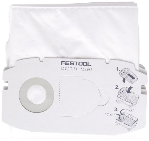 Preisvergleich Produktbild Festool 498410 Filtersack FIS-CT MINI 5x