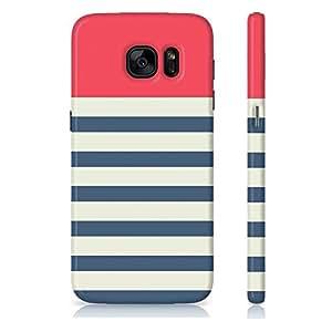 Amey navy pattern Samsung Galaxy S7 Edge Case