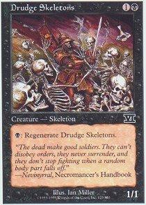 Skeletons Drudge (Magic: the Gathering - Drudge Skeletons - Sixth Edition by Magic: the Gathering)