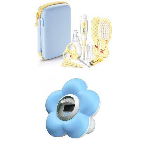 Philips AVENT SCH400/00 Babypflege-Set mit Badethermometer SCH550/20