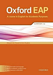 Oxford EAP: Elementary/A2: Student's Book and DVD-ROM Pack by Edward de Chazal (2015-08-20)