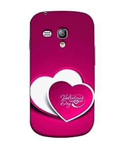 Snapdilla Designer Back Case Cover for Samsung Galaxy S3 Mini I8190 :: Samsung I8190 Galaxy S Iii Mini :: Samsung I8190N Galaxy S Iii Mini (Art Special Day Gift Card Anniversary Relation )
