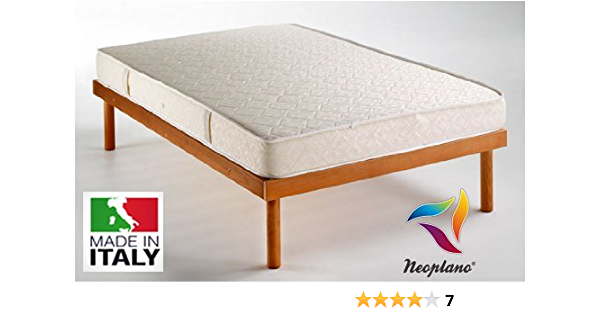 Single Orthopaedic Mattress 80 X 190 Cm Hypoallergenic Mite Resistant Aerated Water Foam By Neoplano Amazon Co Uk Home Kitchen