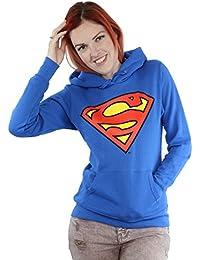 Official Superman Femmes Sweat À Capuche