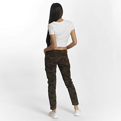 DEF Donna Jeans / Slim Fit Jeans Ribbed Mimetico