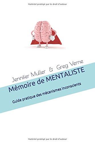 Mémoire de MENTALISTE par Jennifer Muller