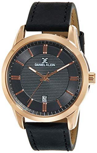 Daniel Klein Analog Black Dial Men's Watch-DK11844-3