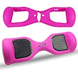 ABBY Protection en Silicone Cover pour Hoverboard Silicone Case Skin pour 6,5 Pouces Swegway 2 Wheel...