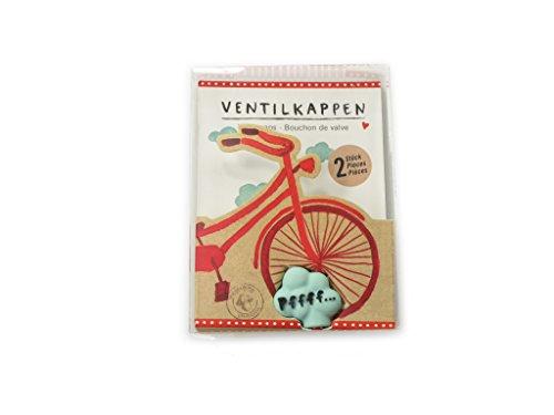 Preisvergleich Produktbild Spiegelburg 12782 Ventilkappen I Love my Bike (2 Stück)