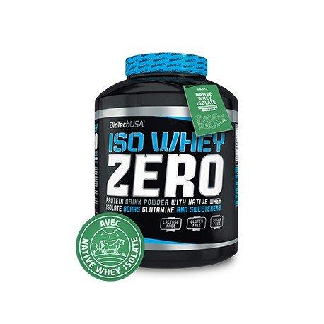 Biotech Isowhey Zero Lactose Free Proteínas Fresa - 500 gr