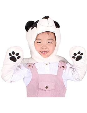 Cappello Panda Adulto Bambini Ra