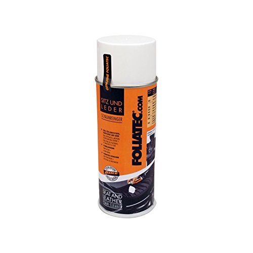 Foliatec F2400 Seat/Leather Color Spray, Schaumreiniger, 1 x 400 ml