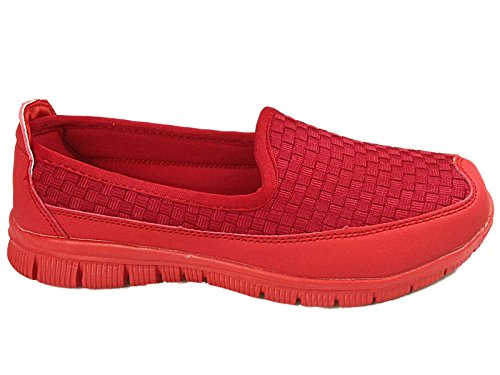 Cushion Walk , Baskets mode pour femme red