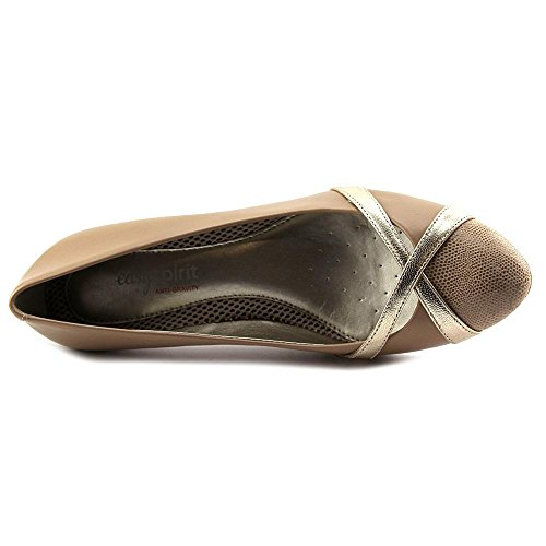 Easy Spirit Nerissa Large Cuir Talons Taupe